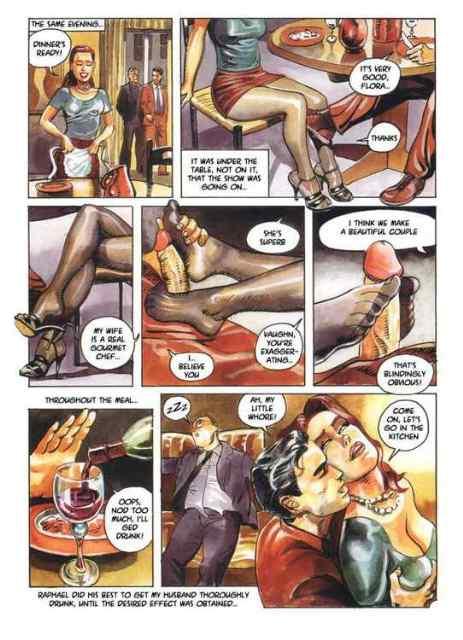 Порно истец комиксы